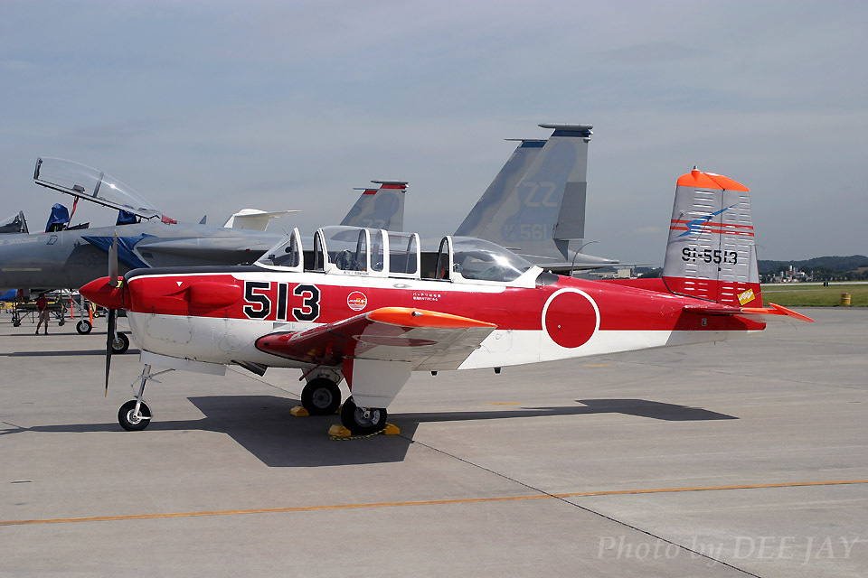 DEE JAYさんの航空自衛隊 Fuji T-3 (91-5513) 航空フォト