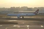 のんびりこまきさんが、福岡空港で撮影したキャセイドラゴン A330-343Xの航空フォト(写真)