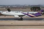 やまけんさんが、仙台空港で撮影したタイ国際航空 A330-343Xの航空フォト(写真)