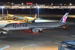 harahara555さんが、羽田空港で撮影したカタール航空 A350-941XWBの航空フォト(写真)