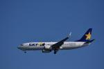 ぬま_FJHさんが、羽田空港で撮影したスカイマーク 737-82Yの航空フォト(写真)