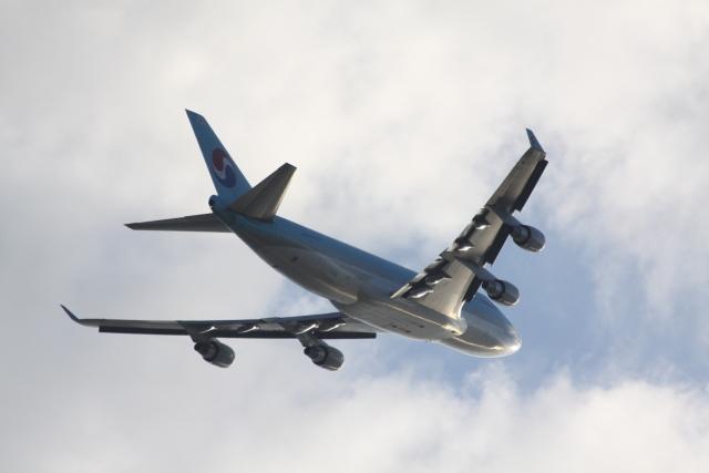 yasunori0624さんが、関西国際空港で撮影した大韓航空 747-4B5F/SCDの航空フォト(飛行機 写真・画像)