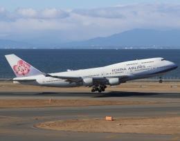 ドガースさんが、中部国際空港で撮影したチャイナエアライン 747-409の航空フォト(飛行機 写真・画像)