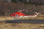 あきらっすさんが、調布飛行場で撮影した奈良県防災航空隊 412EPの航空フォト(飛行機 写真・画像)