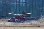 りゅうさんさんが、調布飛行場で撮影した奈良県防災航空隊 412EPの航空フォト(写真)