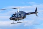 SAMBAR-2463さんが、群馬ヘリポートで撮影したヘリサービス 206B-3 JetRanger IIIの航空フォト(写真)