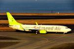 まいけるさんが、羽田空港で撮影したソラシド エア 737-81Dの航空フォト(写真)