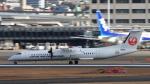 Cassiopeia737さんが、伊丹空港で撮影した日本エアコミューター DHC-8-402Q Dash 8の航空フォト(写真)