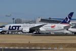harahara555さんが、成田国際空港で撮影したLOTポーランド航空 787-8 Dreamlinerの航空フォト(写真)