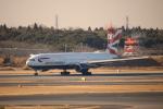 Inamiさんが、成田国際空港で撮影したブリティッシュ・エアウェイズ 777-236/ERの航空フォト(写真)