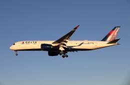 MOHICANさんが、成田国際空港で撮影したデルタ航空 A350-941XWBの航空フォト(写真)