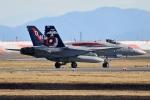 Flankerさんが、岩国空港で撮影したアメリカ海兵隊 F/A-18C Hornetの航空フォト(写真)