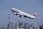 渚くんさんが、羽田空港で撮影した日本航空 777-346/ERの航空フォト(写真)