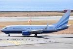 ANA&peachLOVEさんが、関西国際空港で撮影したラスベガス サンズ 737-74U BBJの航空フォト(写真)