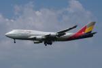 神宮寺ももさんが、福岡空港で撮影したアシアナ航空 747-48Eの航空フォト(写真)