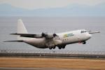 yabyanさんが、中部国際空港で撮影したリンデン・エアカーゴ C-130 Herculesの航空フォト(飛行機 写真・画像)
