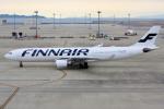 yabyanさんが、中部国際空港で撮影したフィンエアー A330-302Xの航空フォト(飛行機 写真・画像)