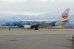 コギモニさんが、小松空港で撮影した日本トランスオーシャン航空 737-4Q3の航空フォト(写真)