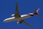 多楽さんが、成田国際空港で撮影したタイ国際航空 777-3D7/ERの航空フォト(写真)