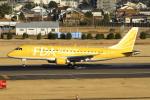とらとらさんが、名古屋飛行場で撮影したフジドリームエアラインズ ERJ-170-200 (ERJ-175STD)の航空フォト(飛行機 写真・画像)