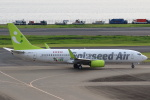 セブンさんが、羽田空港で撮影したソラシド エア 737-86Nの航空フォト(飛行機 写真・画像)