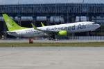 apphgさんが、那覇空港で撮影したソラシド エア 737-81Dの航空フォト(写真)