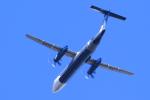 多楽さんが、成田国際空港で撮影したオーロラ DHC-8-402Q Dash 8の航空フォト(写真)