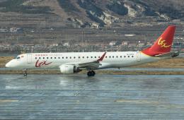 Shotaroさんが、煙台蓬莱国際空港で撮影したGXエアラインズ ERJ-190-100 LR (ERJ-190LR)の航空フォト(飛行機 写真・画像)