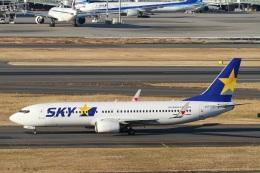 camelliaさんが、羽田空港で撮影したスカイマーク 737-86Nの航空フォト(写真)
