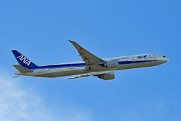 tsubasa0624さんが、羽田空港で撮影した全日空 777-381/ERの航空フォト(飛行機 写真・画像)