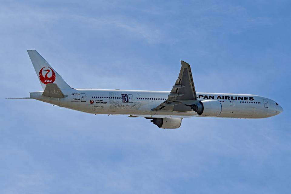 tsubasa0624さんの日本航空 Boeing 777-300 (JA731J) 航空フォト
