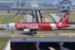 ★azusa★さんが、クアラルンプール国際空港で撮影したエアアジア A320-214の航空フォト(写真)
