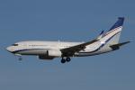 ゴンタさんが、成田国際空港で撮影した現代自動車 737-7GE(BBJ)の航空フォト(写真)