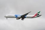 Fuseyaさんが、シンガポール・チャンギ国際空港で撮影したエミレーツ航空 777-31H/ERの航空フォト(写真)