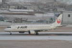 プルシアンブルーさんが、仙台空港で撮影したジェイ・エア ERJ-190-100(ERJ-190STD)の航空フォト(写真)