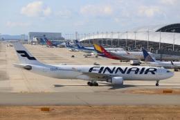 つっさんさんが、関西国際空港で撮影したフィンエアー A330-302Xの航空フォト(写真)
