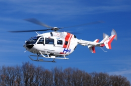 SAMBAR-2463さんが、岐阜県加茂郡坂祝町で撮影したセントラルヘリコプターサービス BK117C-2の航空フォト(写真)