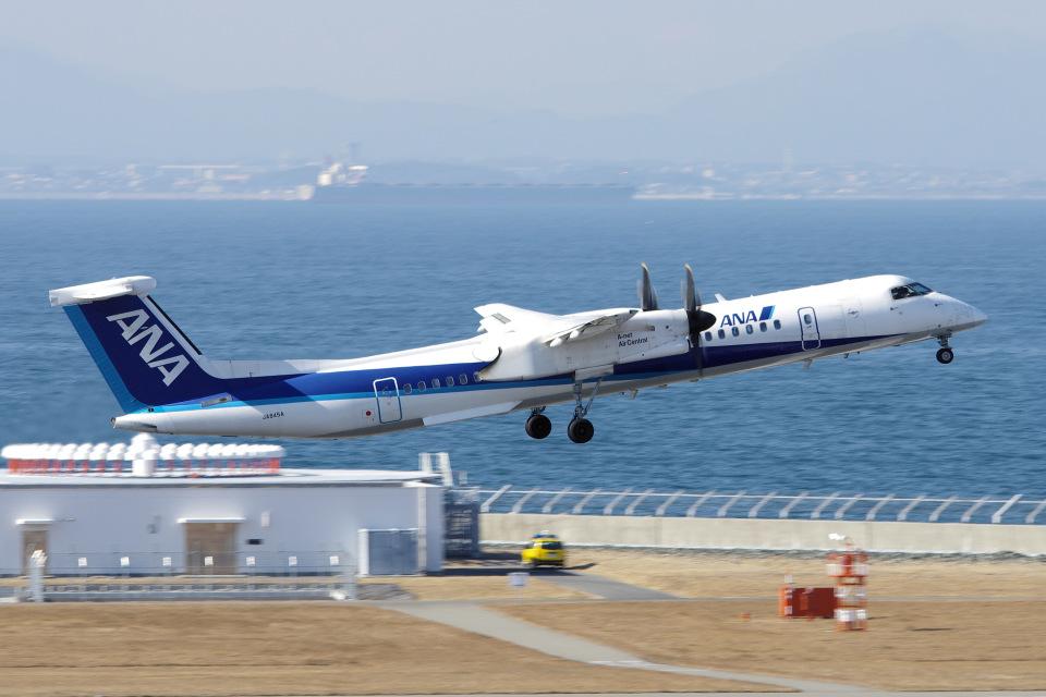 yabyanさんのエアーニッポンネットワーク Bombardier DHC-8-400 (JA845A) 航空フォト