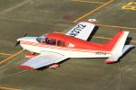 とらとらさんが、名古屋飛行場で撮影した日本個人所有 PA-28-151 Cherokee Warriorの航空フォト(飛行機 写真・画像)
