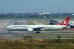 reonさんが、スワンナプーム国際空港で撮影したターキッシュ・エアラインズ 777-3F2/ERの航空フォト(写真)