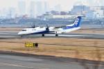 kiraboshi787さんが、伊丹空港で撮影したANAウイングス DHC-8-402Q Dash 8の航空フォト(写真)