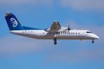 PASSENGERさんが、オークランド空港で撮影したエア・ニュージーランド・リンク DHC-8-300 Dash 8の航空フォト(写真)