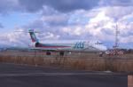 プルシアンブルーさんが、名古屋飛行場で撮影した日本エアシステム MD-90-30の航空フォト(写真)