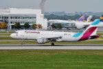 gomaさんが、ミュンヘン・フランツヨーゼフシュトラウス空港で撮影したユーロウイングス A320-216の航空フォト(写真)