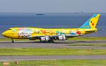 B.K JEONGさんが、羽田空港で撮影した全日空 747-481(D)の航空フォト(飛行機 写真・画像)