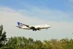 S-Hawkさんが、成田国際空港で撮影したユナイテッド航空 747-422の航空フォト(写真)