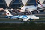 reonさんが、スワンナプーム国際空港で撮影したバンコクエアウェイズ A319-132の航空フォト(写真)