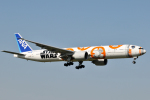 panchiさんが、成田国際空港で撮影した全日空 777-381/ERの航空フォト(写真)