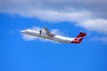 まいけるさんが、シドニー国際空港で撮影したサンステート・エアラインズ DHC-8-402Q Dash 8の航空フォト(写真)