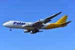 islandsさんが、成田国際空港で撮影したポーラーエアカーゴ 747-46NF/SCDの航空フォト(写真)